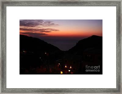 Estellencs View Framed Print