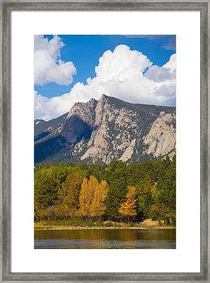 Estes Lake Autumn View  Framed Print by James BO  Insogna