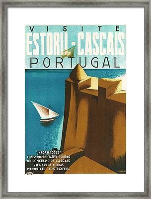Estoril Cassais Framed Print