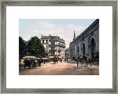 Etablissement Thermal - Aix France Framed Print by International  Images
