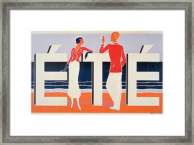 Ete Framed Print by ME Caddy