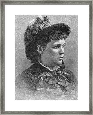 Etelka Gerster (1855-1920) Framed Print