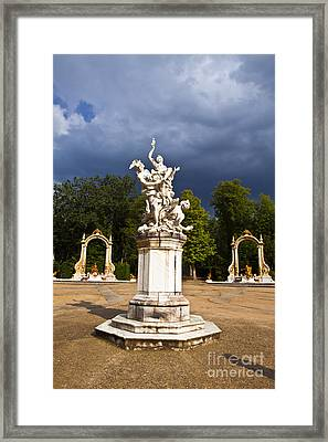 Eternal Hermes - La Granja Gardens Framed Print by Scotts Scapes