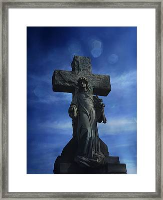 Framed Print featuring the photograph Eternal Hope by Robin Dickinson