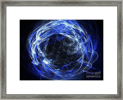 Framed Print featuring the digital art Eternal by Kim Sy Ok
