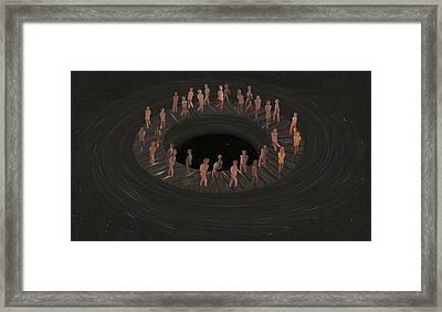 Eternity Ring Framed Print by Eric Kempson