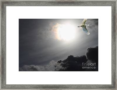 Eternity Framed Print by Wingsdomain Art and Photography