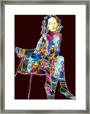 Ethereal Beauty Framed Print by Romy Galicia