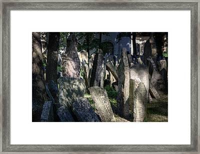 Ethereal Framed Print by Joan Carroll