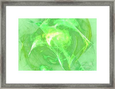 Framed Print featuring the digital art Ethereal by Kim Sy Ok