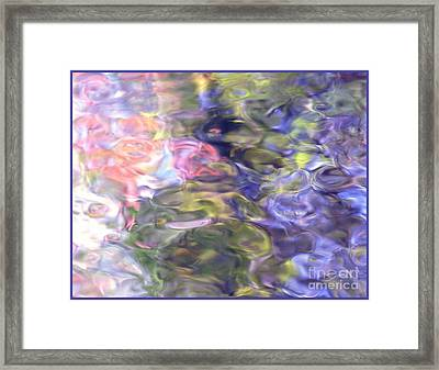 The World Is A Canvas Of Color Framed Print by Sybil Staples