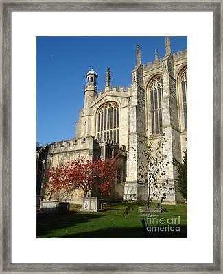 Eton College Chapel Framed Print by Erin Sloneker