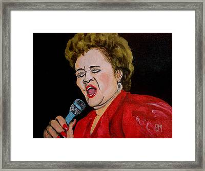 Etta Framed Print by Pete Maier