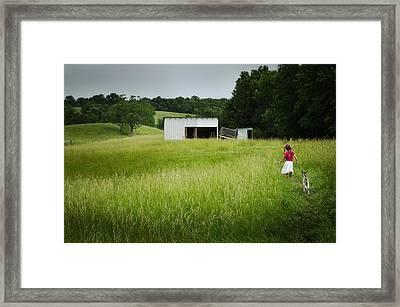 Etta's World Framed Print
