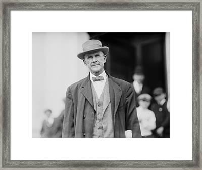 Eugene Debs 1855-1926 In 1912. He Framed Print by Everett