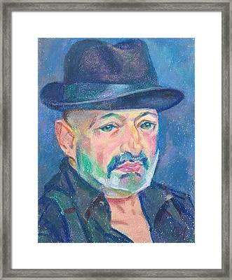 Eugene Zuckerman Framed Print by Leonid Petrushin