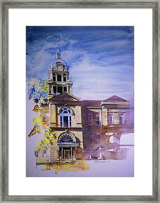 Eureka Courthouse Framed Print by Rick Clubb
