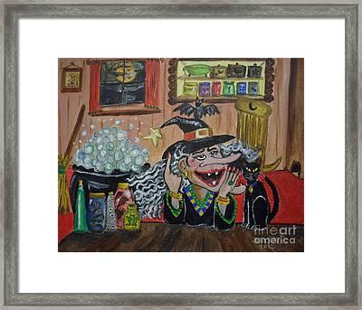 Eureka   I've Got It Framed Print by Julie Brugh Riffey