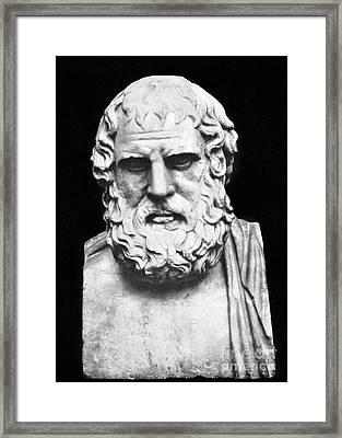 Euripides Framed Print by Granger