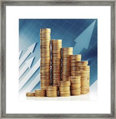 Euro Coin Framed Print