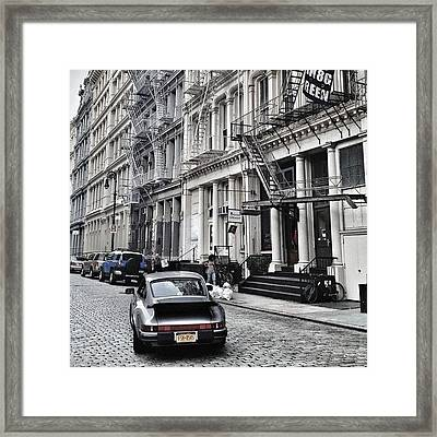 European Design Framed Print