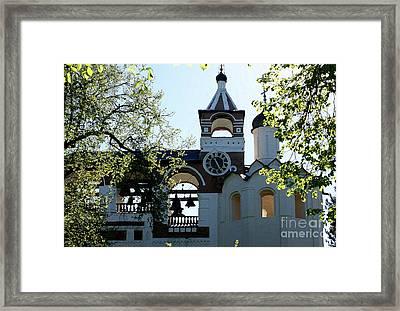 Euthimiev Monastry 44 Framed Print by Padamvir Singh