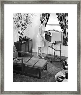 Ev1916 - The 1963 General Electric Framed Print by Everett
