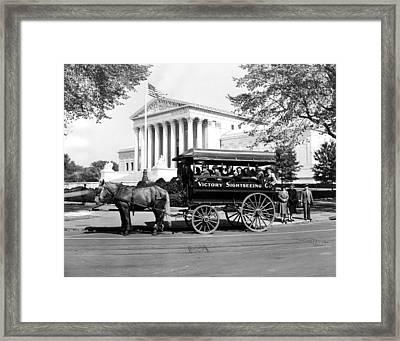 Ev1996 - James J. Grace, Sightseeing Framed Print