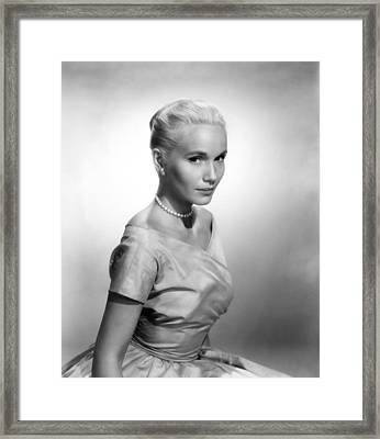 Eva Marie Saint, Ca. 1956 Framed Print by Everett
