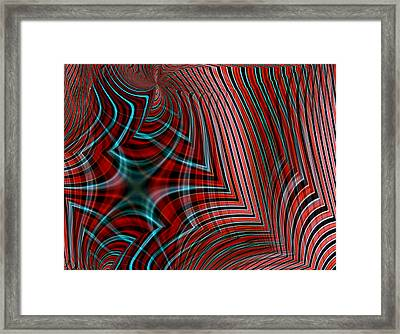 Evalise No.3 Framed Print by Danny Lally