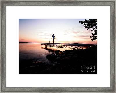 Evanesce - I'm Not Here Framed Print by Venura Herath