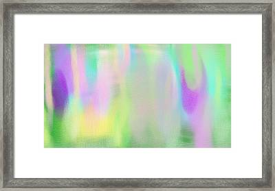 Evanescence Framed Print by Rosana Ortiz