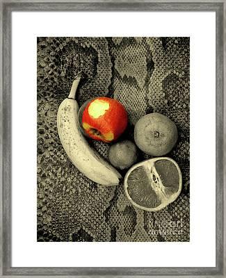 Eve Had Choices Framed Print