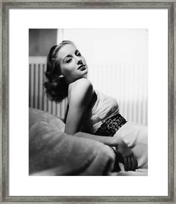 Evelyn Keyes, 1939 Framed Print