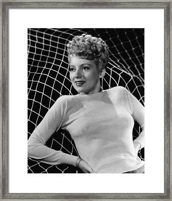 Evelyn Keyes, 1945 Framed Print by Everett