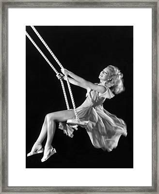 Evelyn Keyes, 1947 Framed Print by Everett