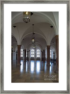 Even And Odd Framed Print by Pit Hermann