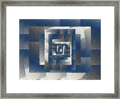 Even On A Cloudy Day Framed Print by Tim Allen