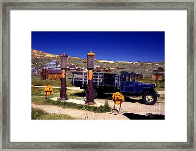 Even The Gas Is Old Framed Print by Paul W Faust -  Impressions of Light
