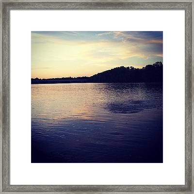 Evening Framed Print by  Abril Andrade Griffith