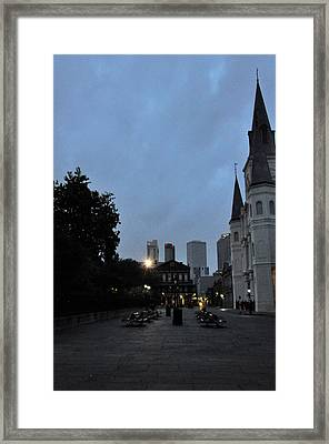 Evening At The Cathedral Framed Print