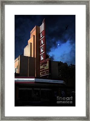 Evening At The Lark - Larkspur California - 5d18484 Framed Print