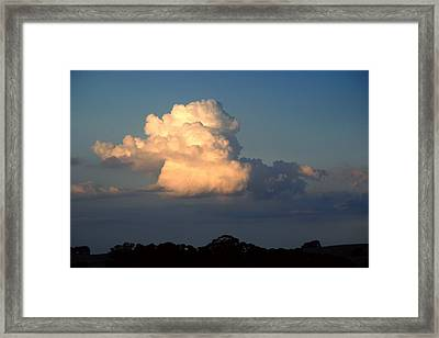 Evening Clouds 2 Framed Print