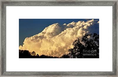 Evening Clouds Framed Print by Thomas R Fletcher