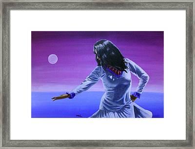 Evening Dance Framed Print by Jerry Frech