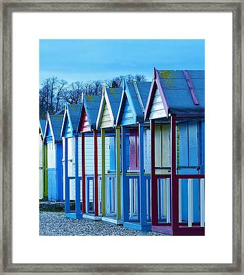Evening Falls Framed Print by Karen Grist