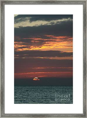 Evening Glow Framed Print by Christiane Schulze Art And Photography