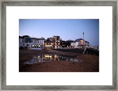 Evening In Broadstairs Framed Print by Jez C Self
