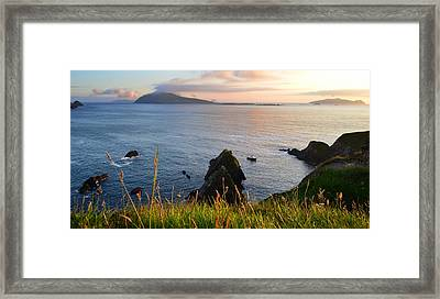 Evening In Kerry Framed Print by Barbara Walsh