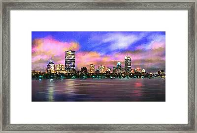 Evening Lights Framed Print by Robert Smith